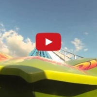 POV Lightning Run - Kentucky Kingdom's new roller coaster!