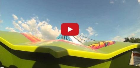 POV Lightning Run – Kentucky Kingdom's new roller coaster!