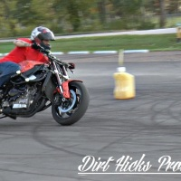 Motorcycle drifting - Josh Graham & John Wesley - stuntbike drift course