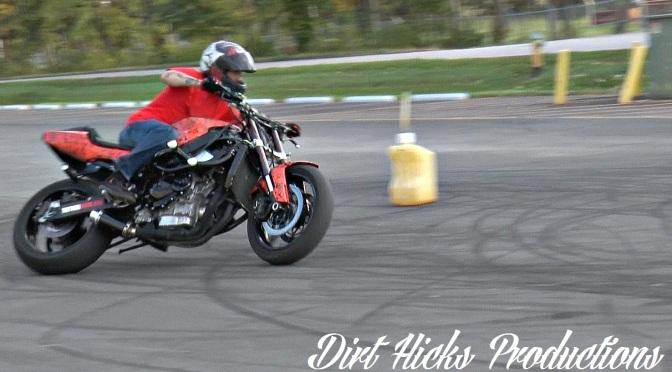 Motorcycle drifting – Josh Graham & John Wesley – stuntbike drift course