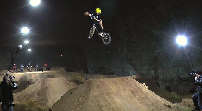 BMX DIRT JUMPS & TRICKS @ LOUISVILLE MEGA CAVERN – LARGEST INDOOR BIKE PARK