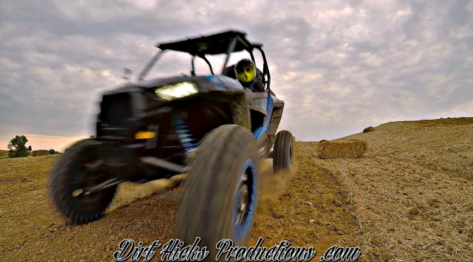 GOPRO HERO 4 GETS SLAMMED BY POLARIS RZR AFTER 130FT JUMP