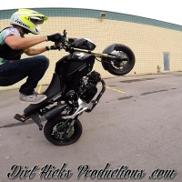 GROM LOT STUNTING - GOPRO GIMBAL - MSX125 WHEELIES & STUNTS