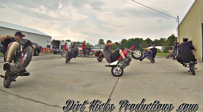 MINIBIKE MOSHPIT – DUDE DATE 2014 FIDDY FRIDAY- RAW FOOTAGE