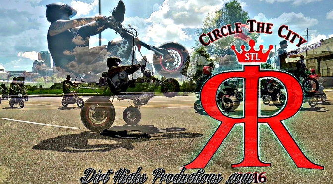 RANDOS RIDE 2016 – CIRCLE THE CITY – ST. LOUIS 50CC, PIT BIKE, GROM STUNTING & MORE! MINI BIKELIFE