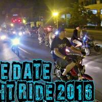 DUDE DATE 2016 - NIGHT HOOD RIDE & SKATE PARK - 50CC, GROM, PIT BIKE STUNT RIDING - LOUISVILLE, KY