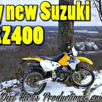 MY NEW DRZ400 - FIRST RIDE - COLD DUAL SPORT RIDE - SNOWY TRAILS