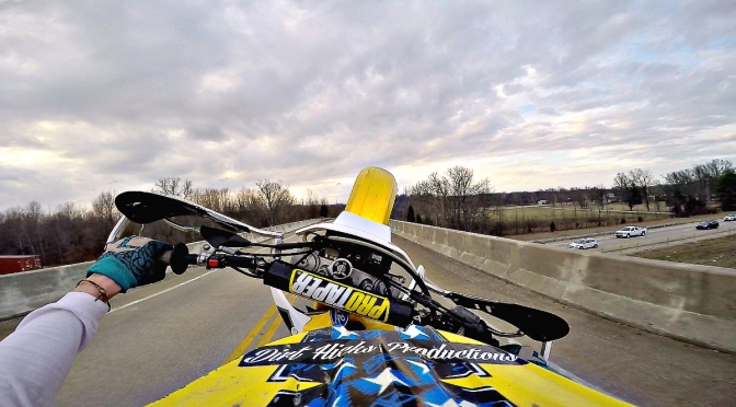 FEBRUARY DUAL SPORT RIDING – DRZ400 – FINDING BALANCE POINT & MISCELLANEOUS FUN