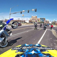 RANDO'S RIDE - CIRCLE THE CITY 2017 - RAW GOPRO FOOTAGE - ST. LOUIS STUNT RIDING