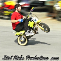 CRF50 PIT BIKE LOT STUNTING - 3/5/17 RAW FOOTAGE - LOUISVILLE PITBIKELIFE