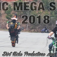 NC MEGA SESH 2018 - NORTH CAROLINA STUNT RIDING - COCK'S STUNT PARTS