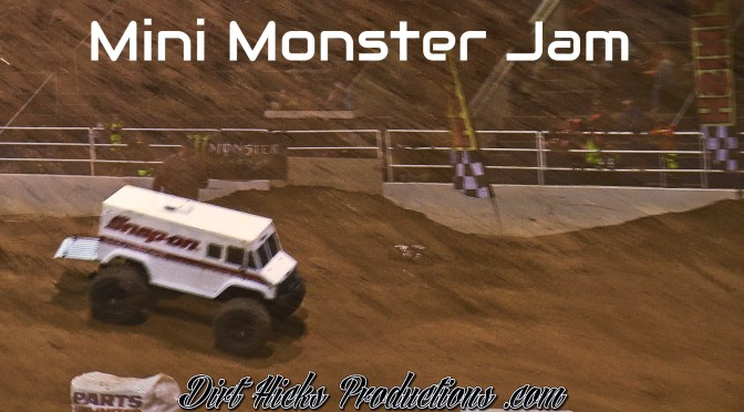 MINI MONSTER JAM – RC TRUCKS TAKEOVER MOTOCROSS TRACK – GREENVILLE, KENTUCKY INDOOR MX