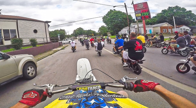 DUDE DATE 2019 – BEST HELMET CAM CLIPS – HONDA Z50 WHEELIES – LOUISVILLE, KENTUCKY
