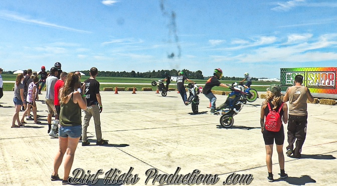MSX125 GROM LAST MAN STANDING CIRCLE WHEELIE CONTEST – RAGE 4 GAGE STUNT RIDING COMPETITION