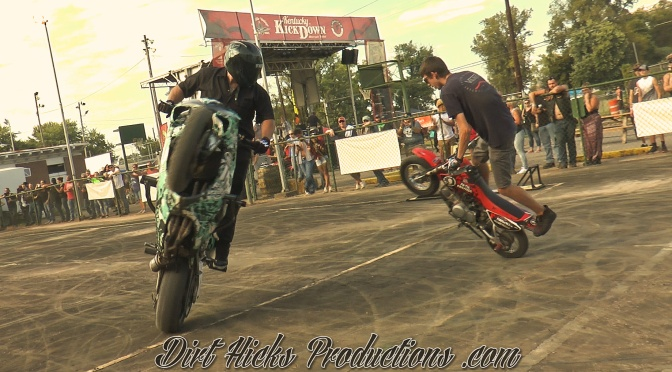 KENTUCKY KICKDOWN MOTORCYCLE STUNT SHOW 2019 – UGKSTUNTS & JORDAN THOMAS – F4i, GROM, CRF50 WHEELIES