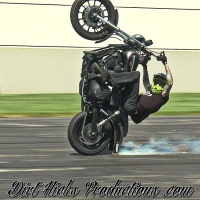 GRAMPION'S NEW HARLEY - HAWG EDIT - @GRAMPION @MG_STUNTS - HARLEY DAVIDSON WHEELIES STUNTING