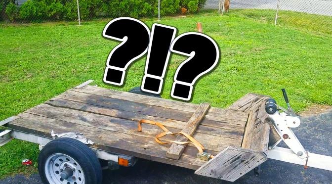 WORST NIGHTMARE! BIKE STOLEN OFF MY TRAILER – PIRANHA 140CC SUZUKI DRZ110 – HELP ME IDENTIFY THEIF- share, share, share!!!